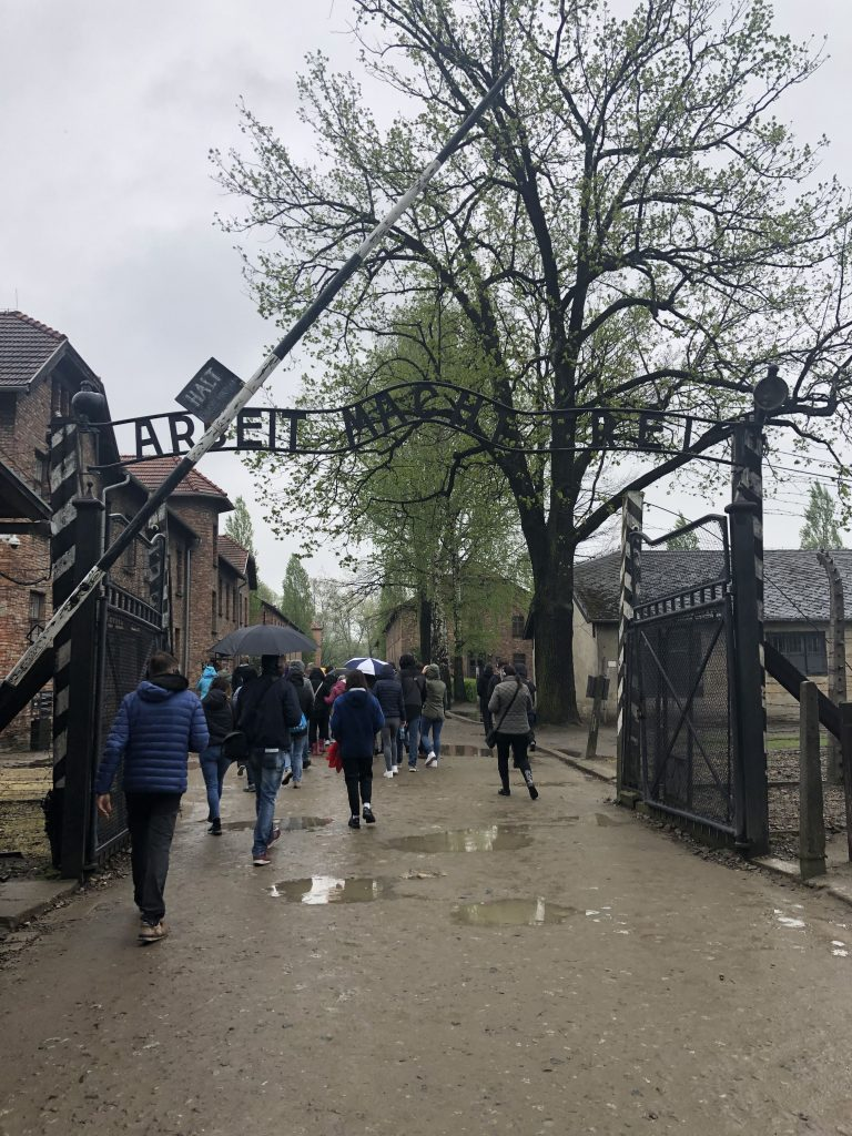 Auschwitz cancello di ingresso