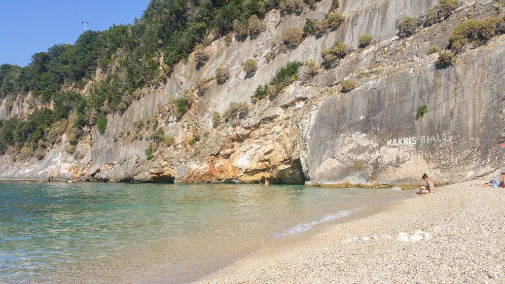 Makris gialos spiagge di Zante