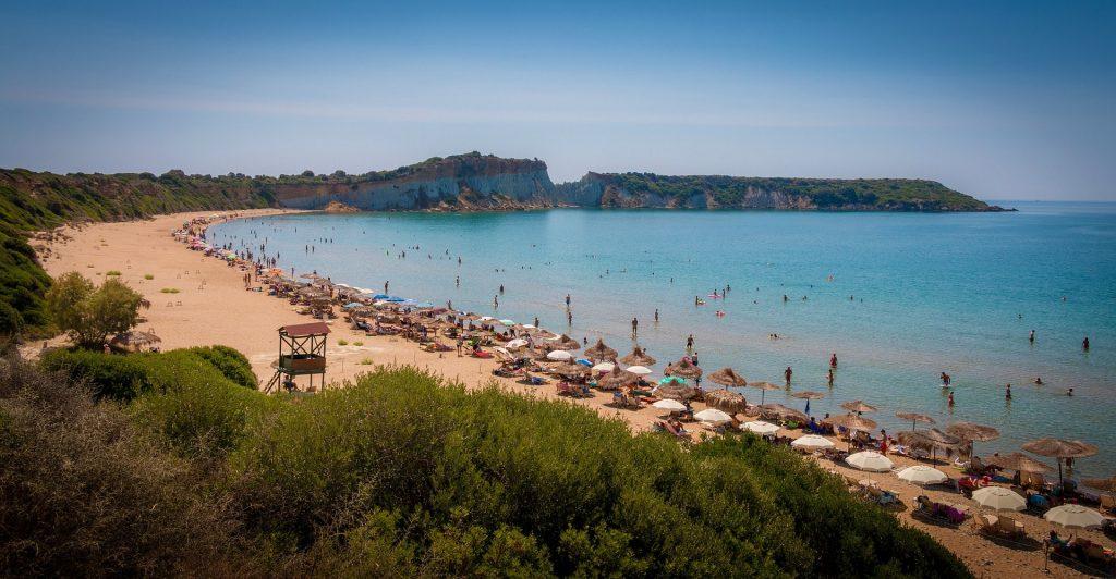 spiaggia di Gerakas ZAnte